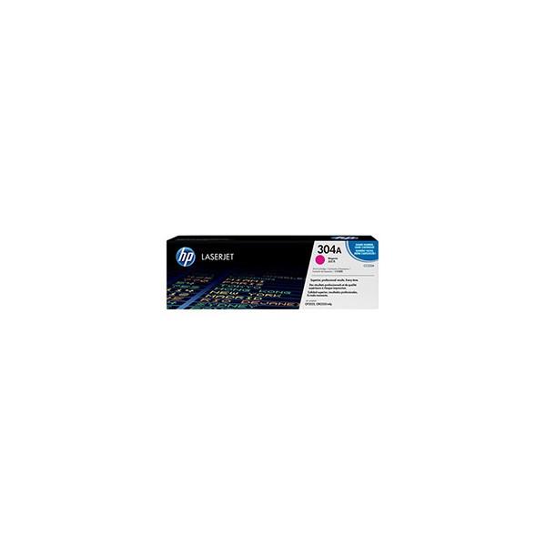 HP Cartouche toner laser magenta 304A - CC533A