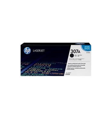 HP Cartouche toner laser noire 307A - CE740A