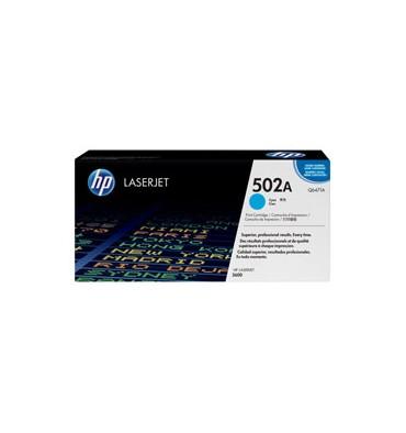 HP Cartouche toner laser cyan 502A - Q6471A