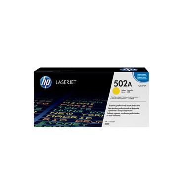 HP Cartouche toner laser jaune 502A - Q6472A