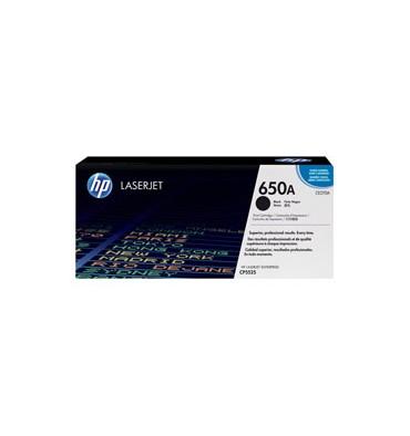 HP Cartouche toner laser noir 650A - CE270A