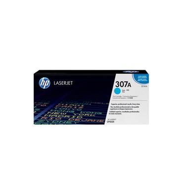 HP Cartouche toner laser cyan 307A - CE741A