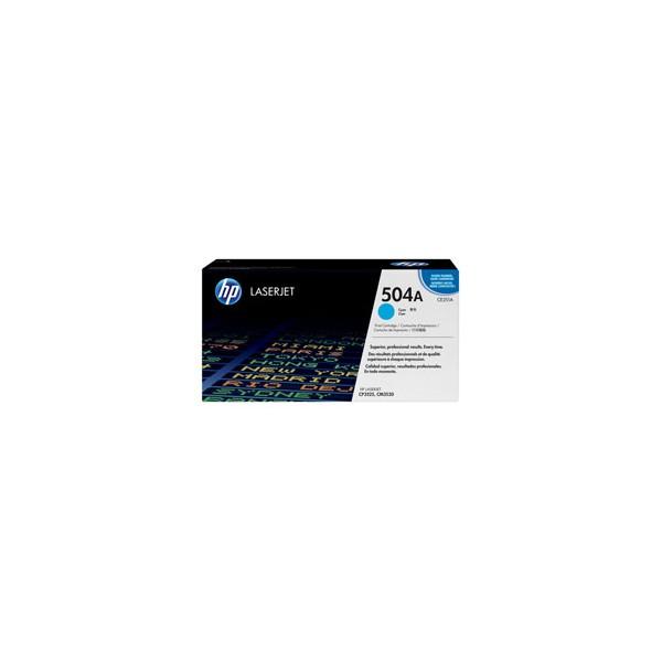 HP Cartouche toner laser cyan 504A - CE251A