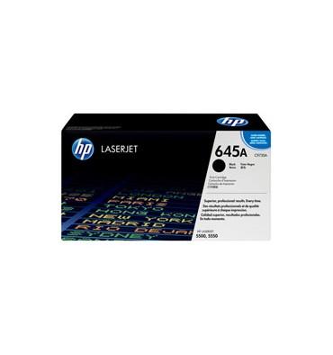 HP Toner laser noir N°645A