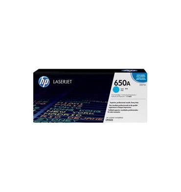 HP Cartouche toner laser cyan 650A - CE271A