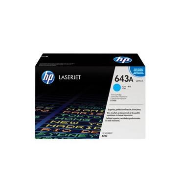 HP Cartouche toner laser cyan 643A - Q5951A