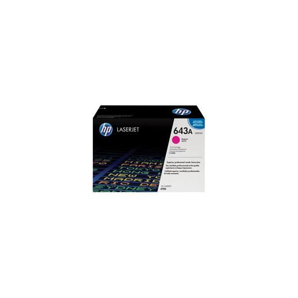 HP Cartouche toner laser magenta 643A - Q5953A
