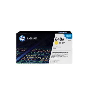 HP Cartouche toner laser jaune 648A - CE262A