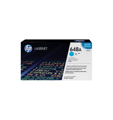 HP Cartouche toner laser cyan 648A - CE261A