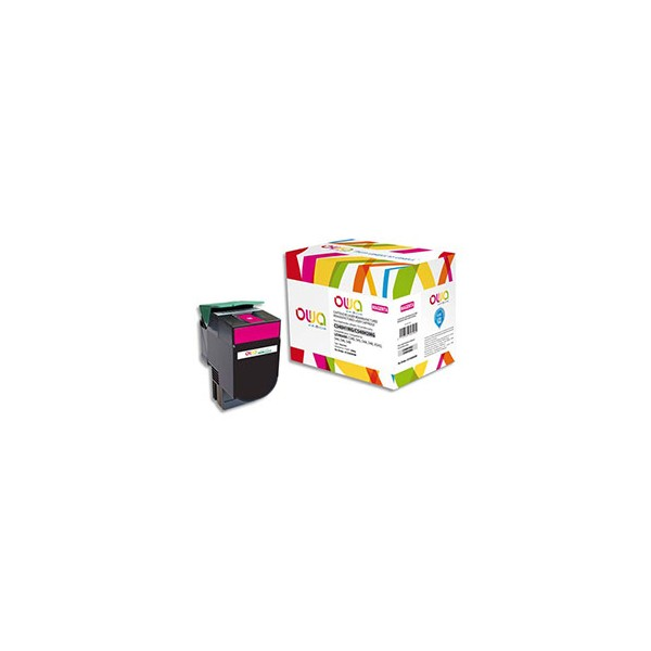 OWA BY ARMOR Cartouche toner laser magenta compatible Lexmark C540H1MG