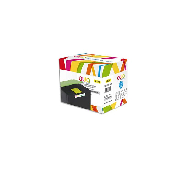 OWA BY ARMOR Cartouche toner laser Jaune compatible Lexmark 80C2SY0