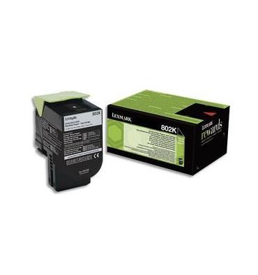 LEXMARK Cartouche toner laser noir 80C20K0