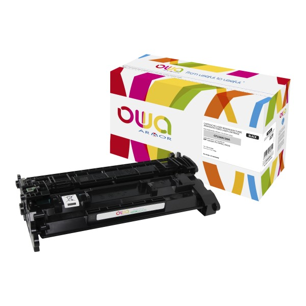 OWA BY ARMOR Cartouche toner laser noir compatibilité HP CF226A / 26A