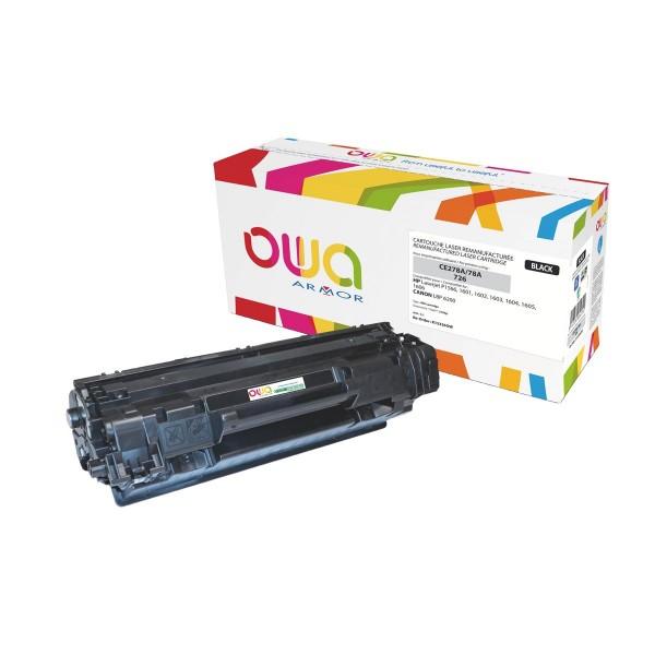 OWA BY ARMOR Cartouche toner laser Noir compatibilité HP CF400X / 201X