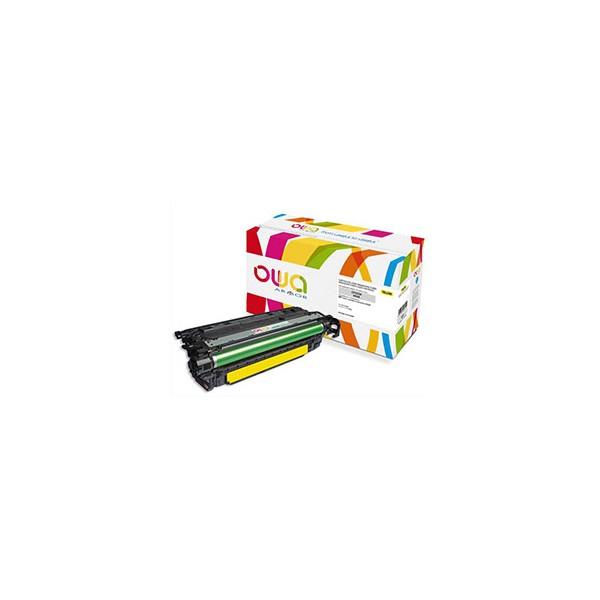 OWA BY ARMOR Cartouche toner laser jaune compatibilité HP CF322A / 653A