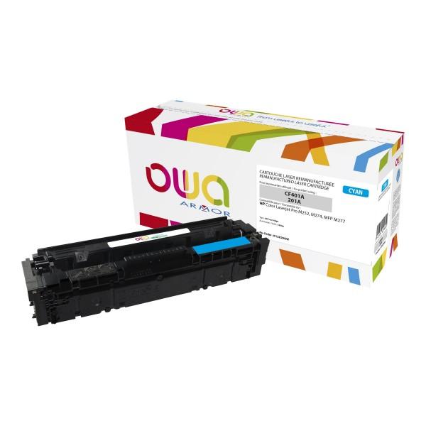 OWA BY ARMOR Cartouche toner laser Cyan compatibilité HP CF401A / 201A