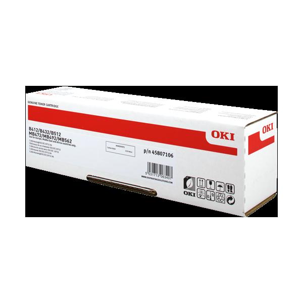 OKI Cartouche toner laser Noir 45807106