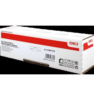 OKI Cartouche toner laser Noir 45807102