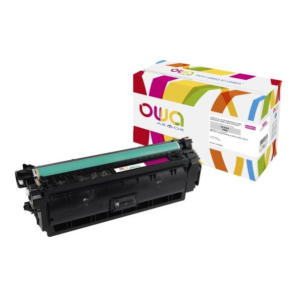 OWA BY ARMOR Cartouche toner laser Magenta compatibilité HP CF362A