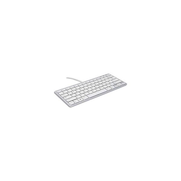 R-GO TOOLS Clavier filaire ergonomique compact