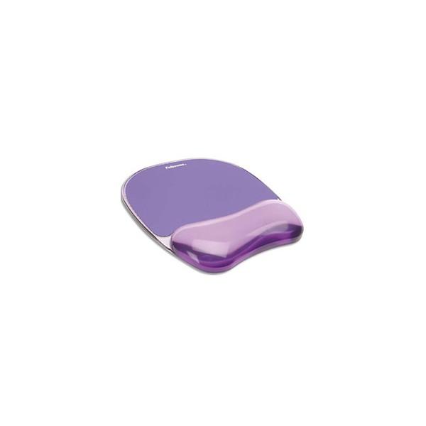 FELLOWES Tapis de souris repose poignets Violet