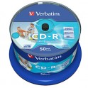 VERBATIM Tour de 50 CD-R imprimable, 52x - 43438 + redevance