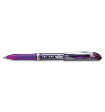 PENTEL Roller Energel rechargeable pointe large coloris violet BL60-V