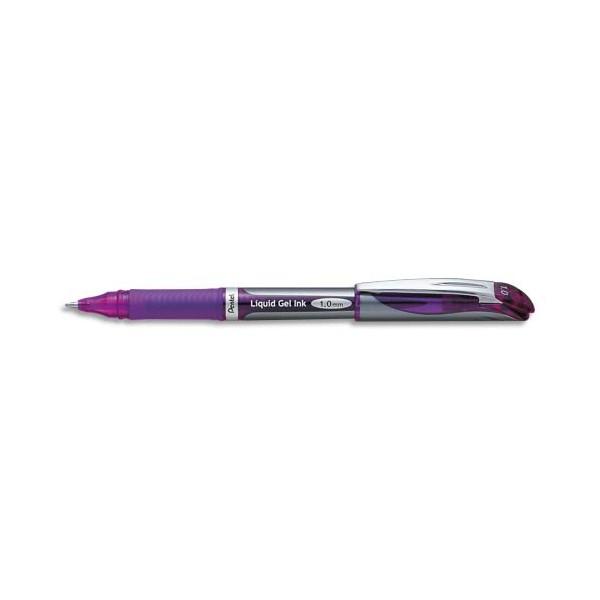 PENTEL Roller Energel rechargeable pointe large coloris violet BL60-V