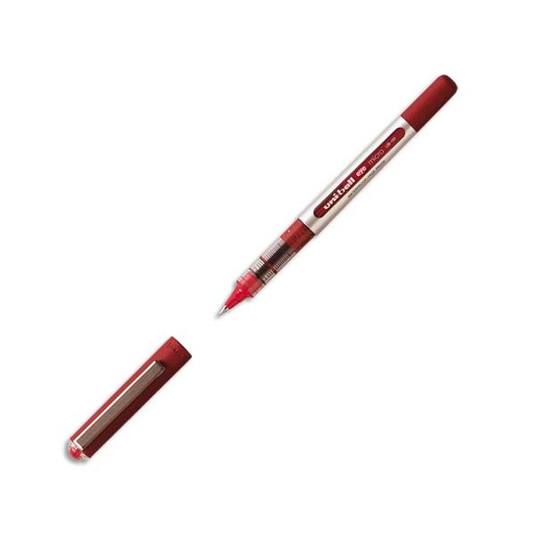 UNIBALL Stylo roller Eye pointe métal ultra-fine encre liquide rouge