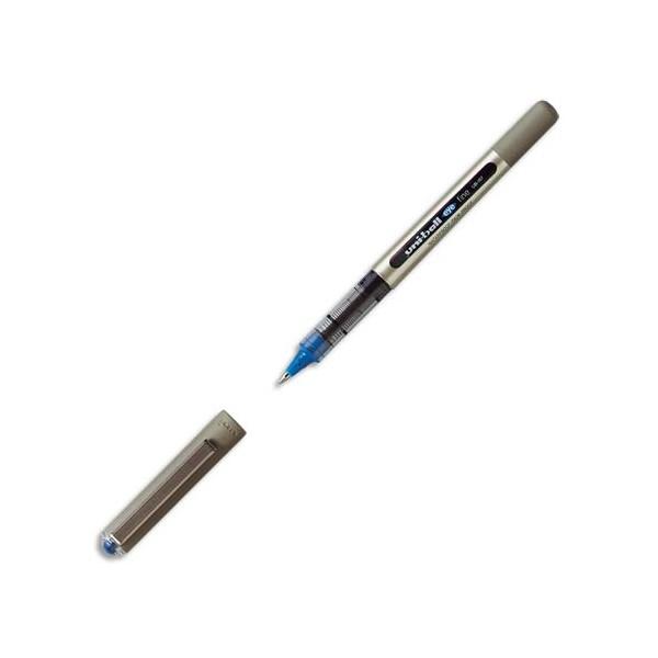 UNIBALL Stylo roller Eye pointe métal moyenne encre liquide bleue