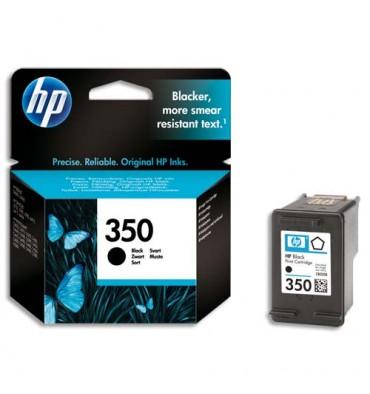 HP Cartouche jet d'encre noire N°350