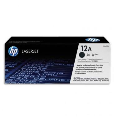 HP Cartouche toner laser noir 12A - Q2612A