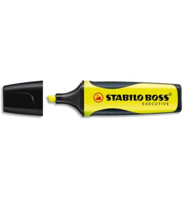 STABILO Surligneur ink jet BOSS EXECUTIVE jaune de 73/14