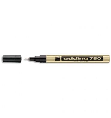 EDDING Marqueur peinture E780 laquée Or, pointe extra fine