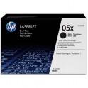 HP 2 Toners laser noir 05X