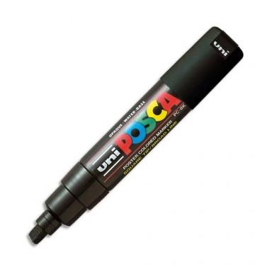 UNIBALL Marqueur peinture à l'eau, encre à pigmentation noir, pointe large UNI POSCA PC8K