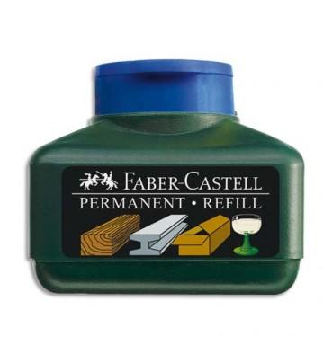 FABER CASTELL Recharge pour marqueur permanent 1504 et 1503, bleu