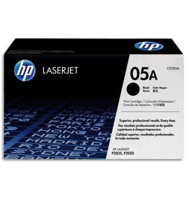 HP Cartouche toner laser noir 05A - CE505A