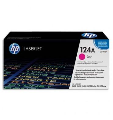 HP Cartouche toner laser magenta 124A - Q6003A