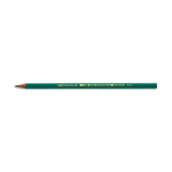 BIC Crayon graphite en résine de synthèsse tête coupée mine HB CONTE EVOLUTION