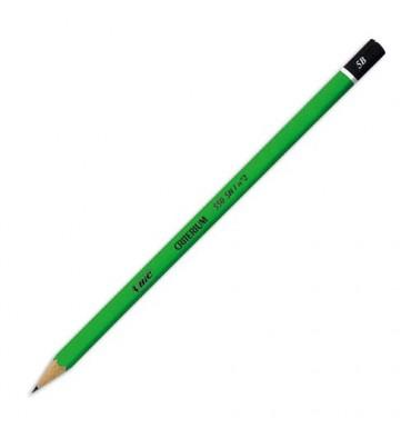 BIC Crayon graphite tête trempée mine 5B CONTE CRITERIUM 550