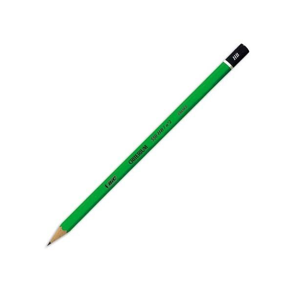 BIC Crayon graphite tête trempée mine HB CONTE CRITERIUM 550