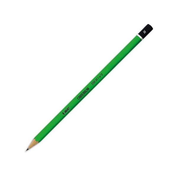 BIC Crayon graphite tête trempée mine H CONTE CRITERIUM 550