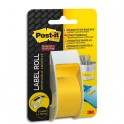 POST-IT Bande de correction adhésive supersticky sur dévidoir plastique jetable 254mmx101m - jaune