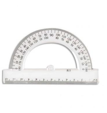 WONDAY Rapporteur 180 degrés 12 cm sous étui packbordable