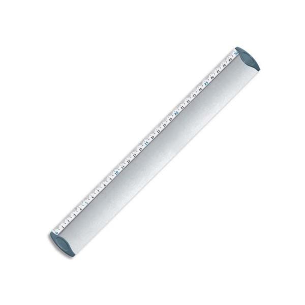 MAPED Triple décimètre en aluminium 30 cm