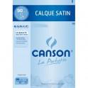 CANSON Pochette de 10 feuilles papier calque satin 90g A3