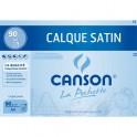 CANSON Pochette de 12 feuilles papier calque satin 90g A4