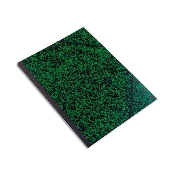 EXACOMPTA Carton à dessin avec élastiques Annonay 37 x 52 cm vert