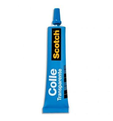 SCOTCH Tube de Colle Universelle Transparente de 30 ml